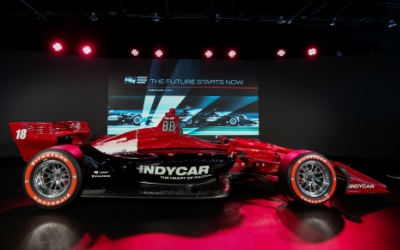 IndyCar Cafe at the North American International Auto Show