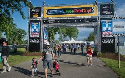 Comerica Bank Free Prix Day