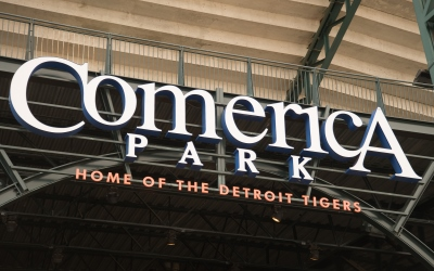Detroit Grand Prix Day at Comerica Park with the Detroit Tigers